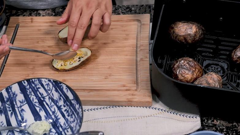 空气炸锅烤土豆皮的简单做法