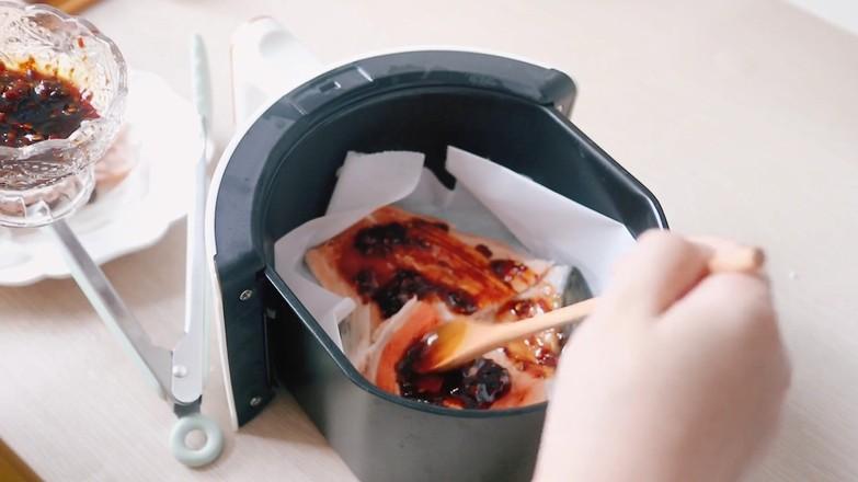 酱烤三文鱼骨的简单做法