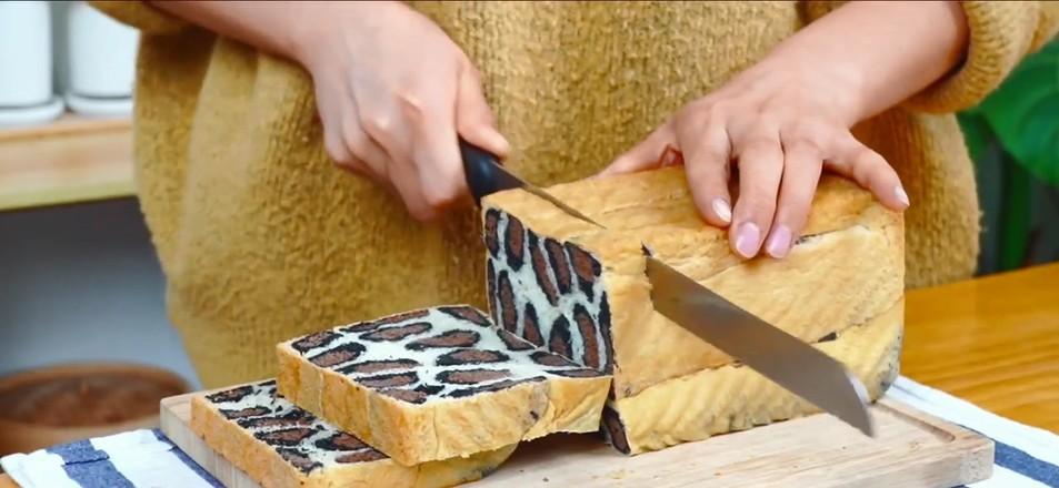 性感豹纹吐司面包怎样做
