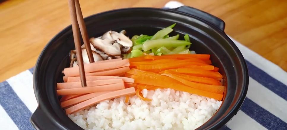 韩式肥牛拌饭的家常做法
