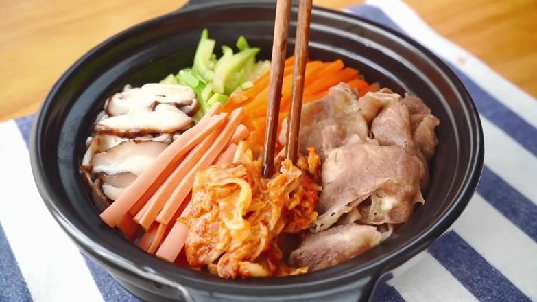 韩式肥牛拌饭的简单做法