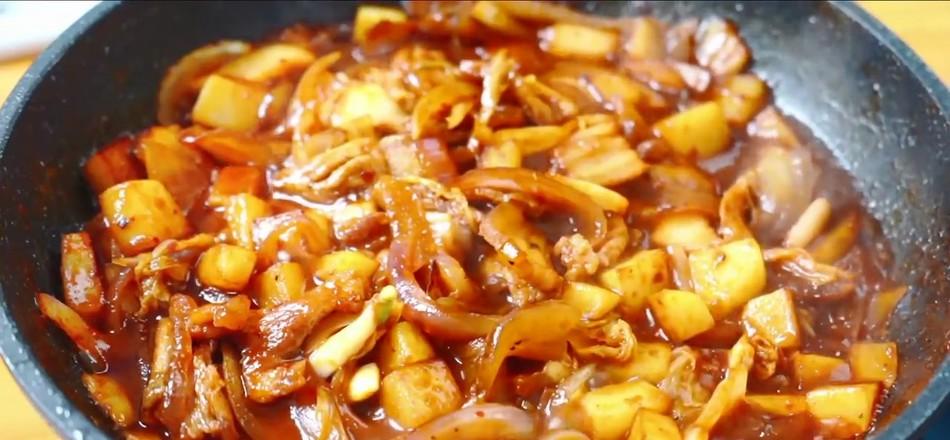 韩式五花肉拌饭怎么煮