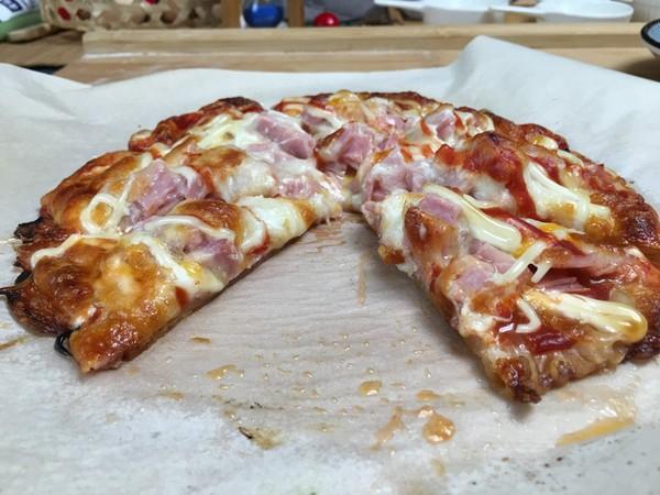 简易手抓饼披萨,比必胜客的还好吃哦。怎么炒