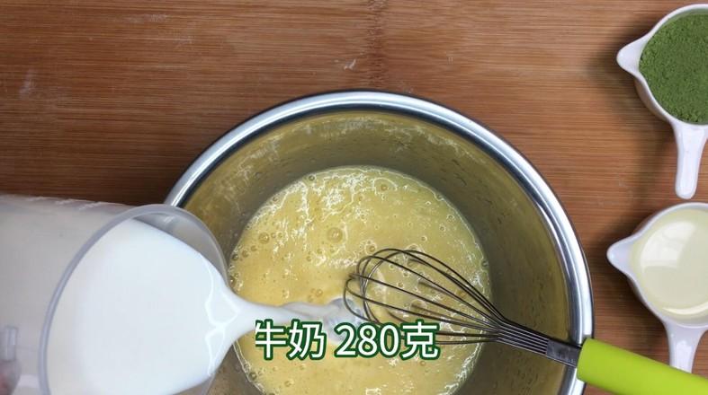 ins风网红抹茶毛巾卷(红豆、香蕉味)的做法图解