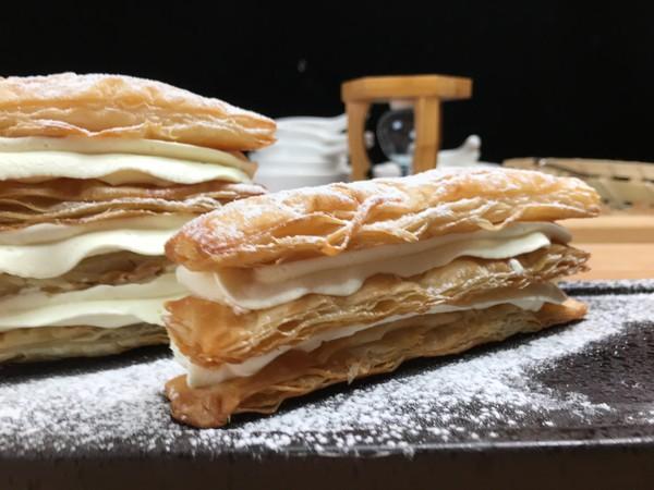 拿破仑手抓饼千层酥,一口酥脆,一口满足。怎么炒