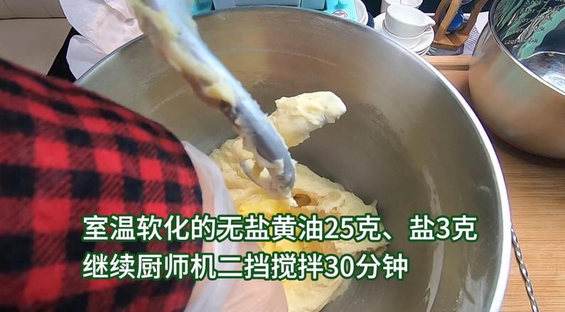 超柔软淡奶油面包,松软可口,奶香味十足。的家常做法