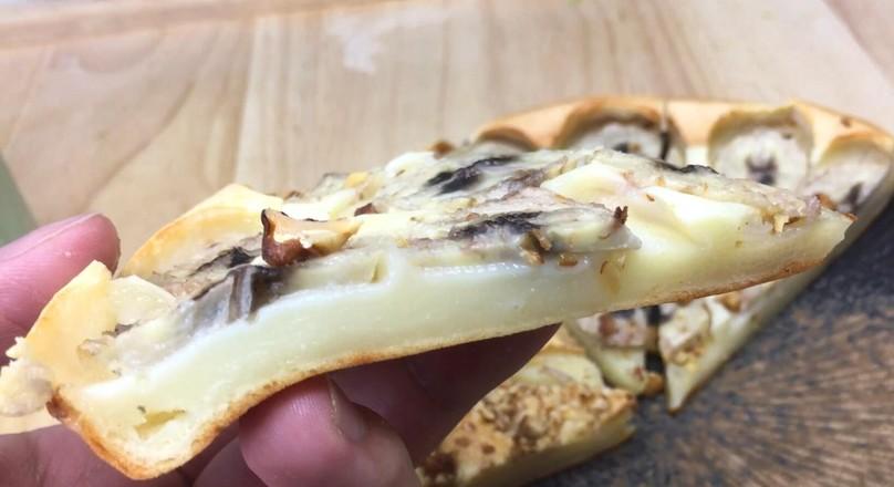 烤年糕披萨,焦脆外壳软糯内心、丰富馅料。怎么炖