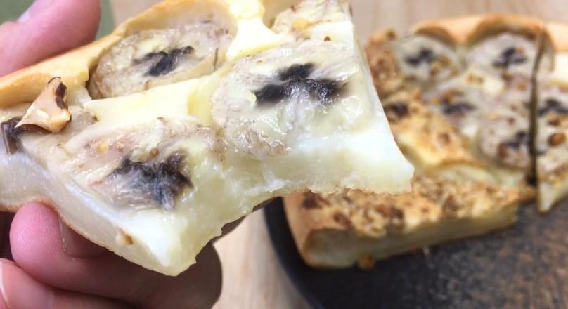 烤年糕披萨,焦脆外壳软糯内心、丰富馅料。怎么煮