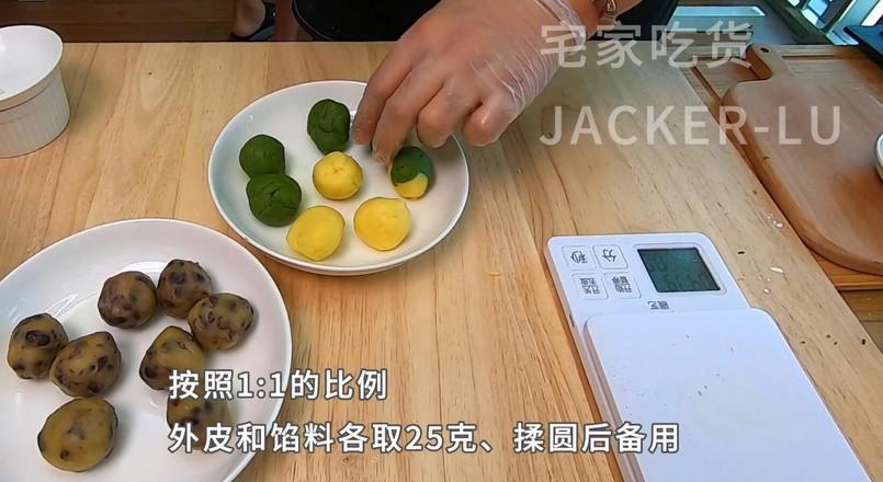 简单红豆酥,一口下去外酥里糯,吃了保证停不下来。怎么做