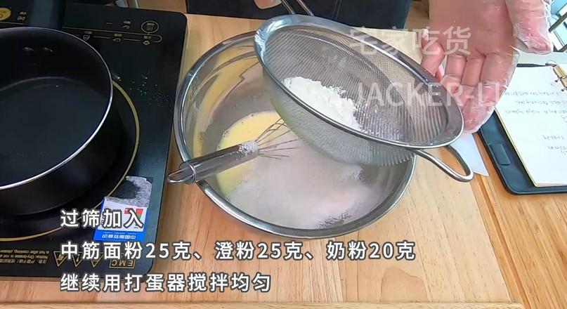 超简单的冰皮月饼,加上超好吃的奶黄馅。的做法图解