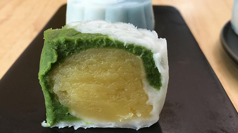 超简单的冰皮月饼,加上超好吃的奶黄馅。怎么煸