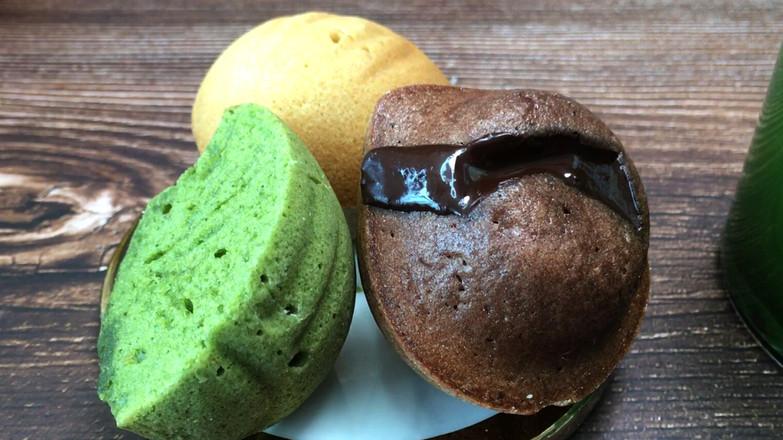 三色栗子玛德琳,浓郁黄油香气小甜品。的做法大全