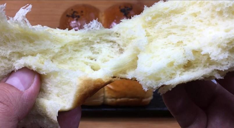 奶油小餐包,一次发酵法,简单又快手!怎样做