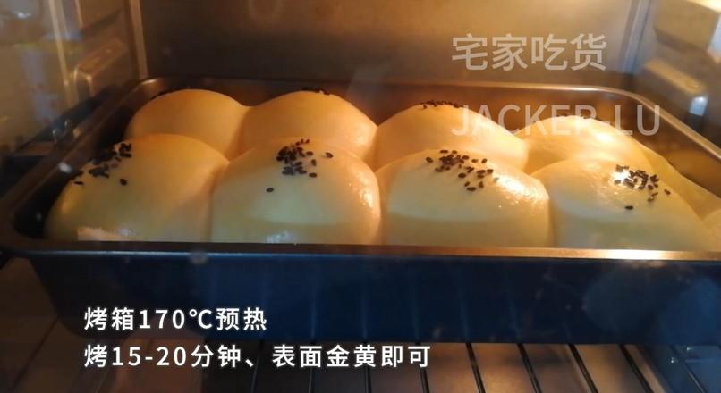 奶油小餐包,一次发酵法,简单又快手!怎么炖