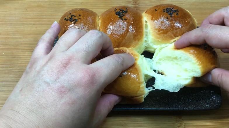 奶油小餐包,一次发酵法,简单又快手!怎样煸