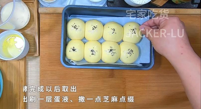 奶油小餐包,一次发酵法,简单又快手!怎么煮
