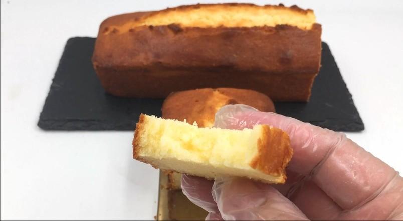 炼乳磅蛋糕成品图