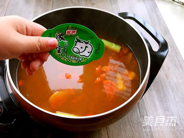番茄牛肉浓汤火锅怎么做