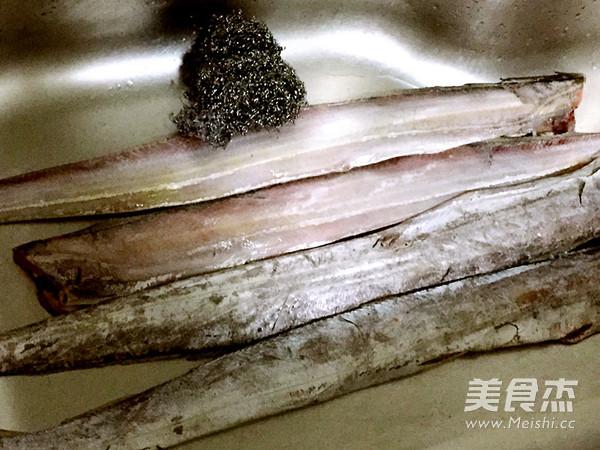 清炖带鱼的做法大全