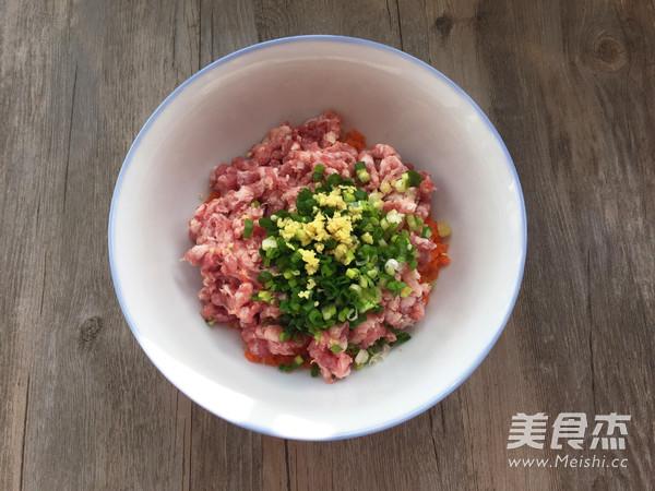 猪肉胡萝卜鸡蛋卷的做法大全