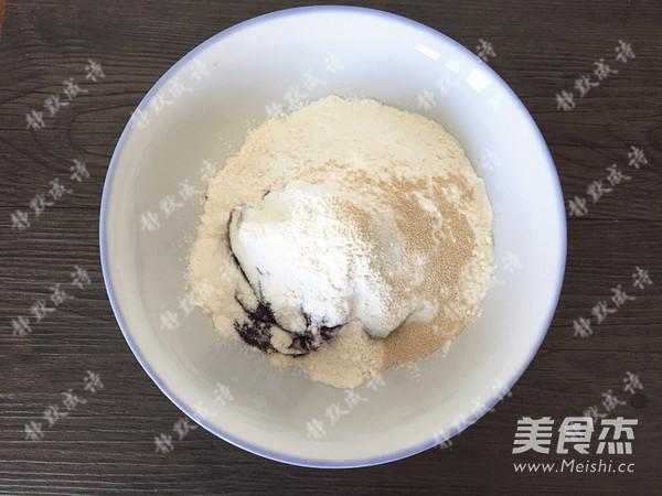 牛奶紫薯发糕的简单做法