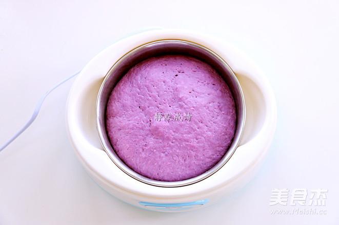 牛奶紫薯发糕怎么炒