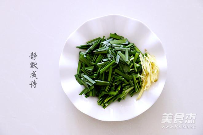 韭菜炒河虾怎么吃