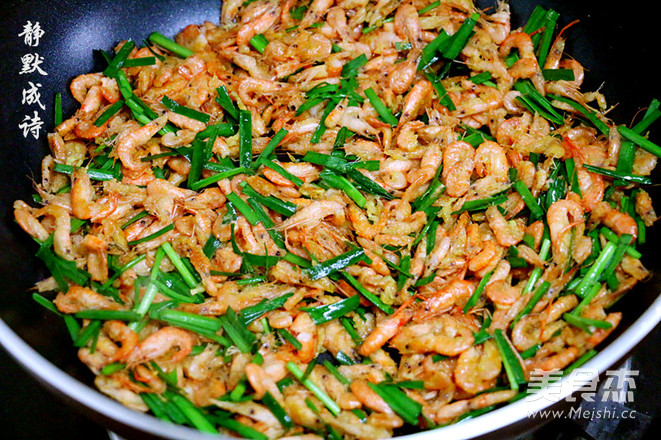 韭菜炒河虾怎么煮