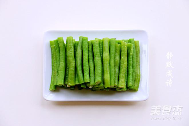 凉拌豇豆怎么吃
