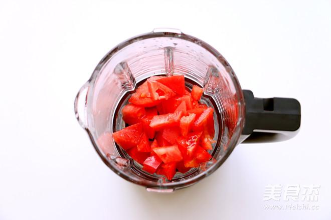 九阳炒菜机西红柿鸡蛋软饼的做法图解