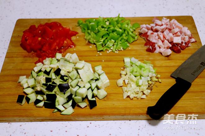 茄子肉丁打卤面的做法大全