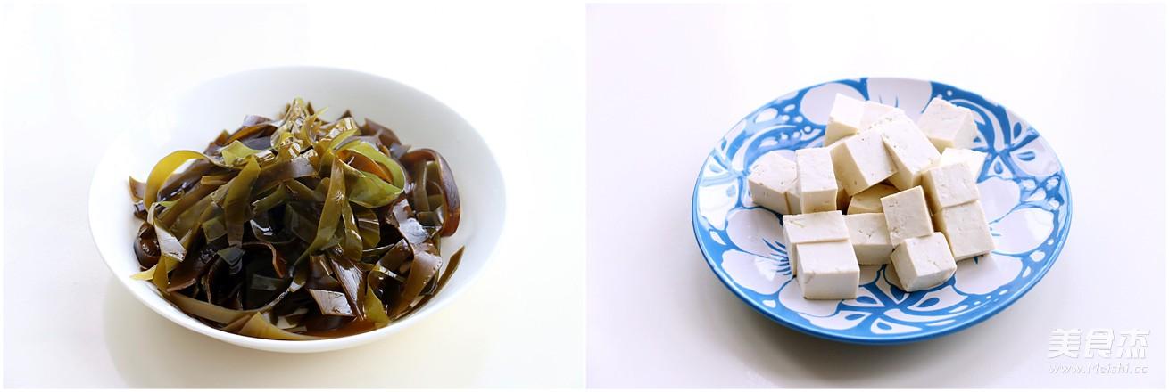 海带炖豆腐的做法图解