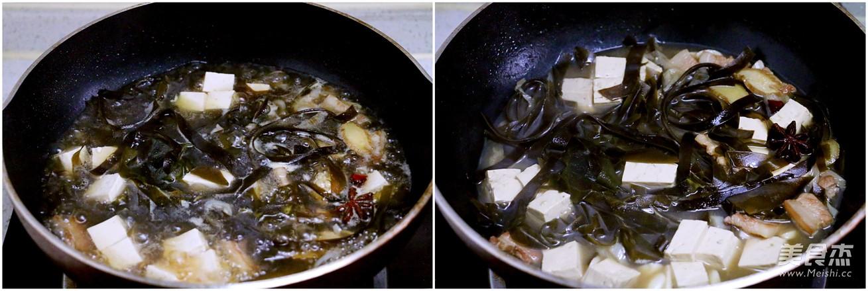 海带炖豆腐怎么吃