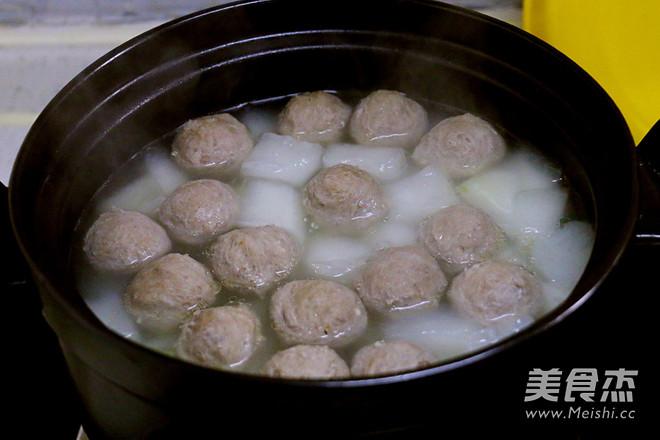 牛肉丸冬瓜汤怎么吃