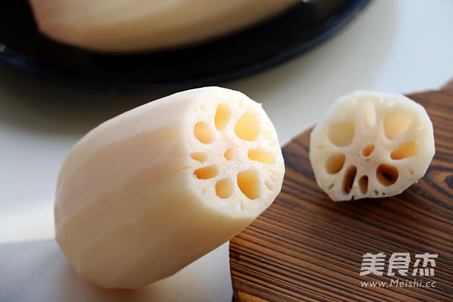 红糖糯米藕的家常做法