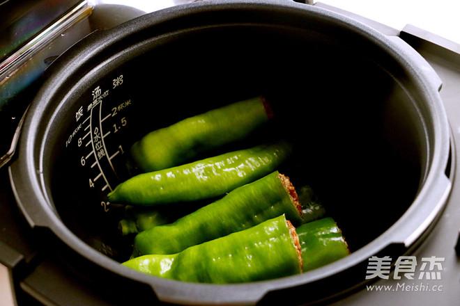 尖椒酿肉怎么做