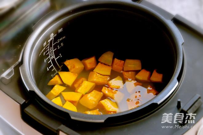 糯米南瓜粥的简单做法