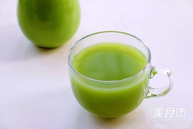 黃瓜芹菜蘋果汁成品圖