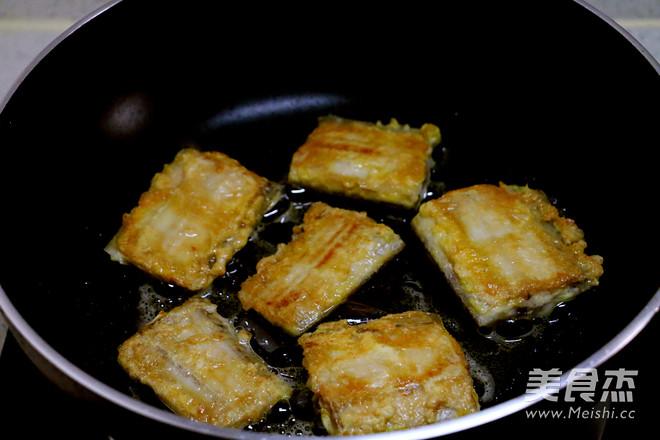煎蒸带鱼怎么炒