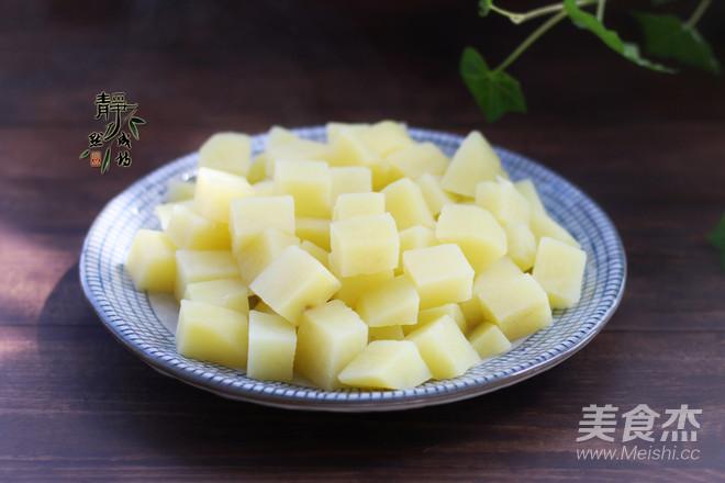 蒜香煎土豆的做法图解