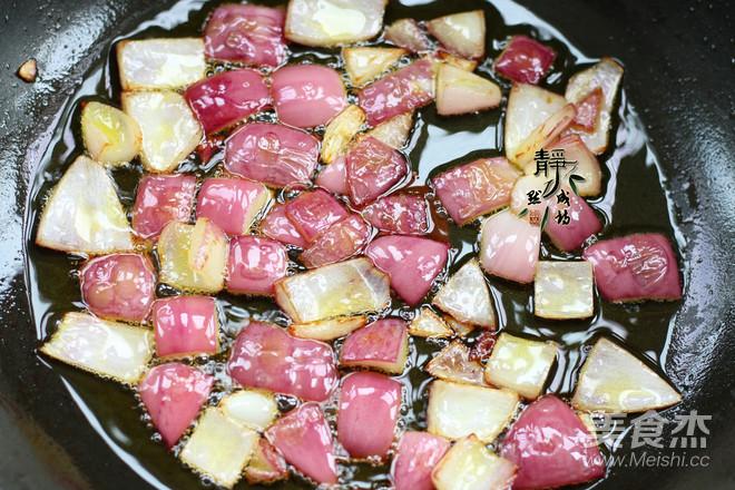 南瓜香菇鸡腿焖饭的简单做法