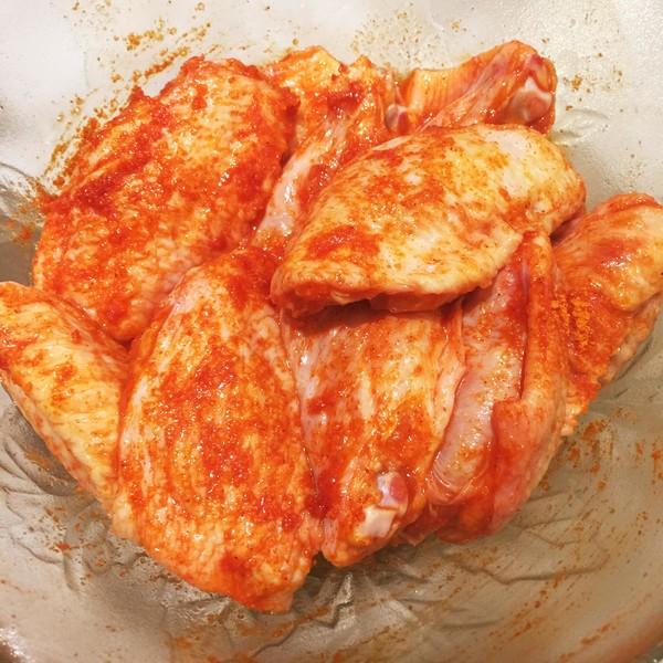 吮指奥尔良烤鸡翅——完胜肯德基的家常做法