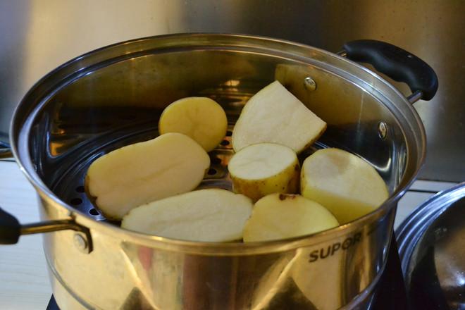 五彩缤纷土豆泥的做法大全