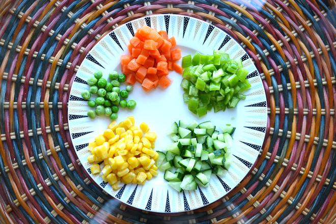 五彩缤纷土豆泥的简单做法
