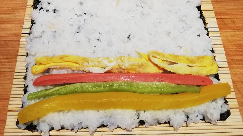 日式简易寿司卷怎么做
