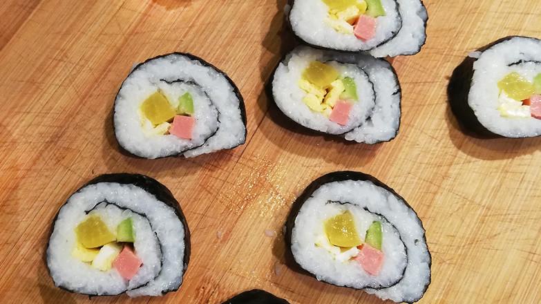 日式简易寿司卷怎么炖