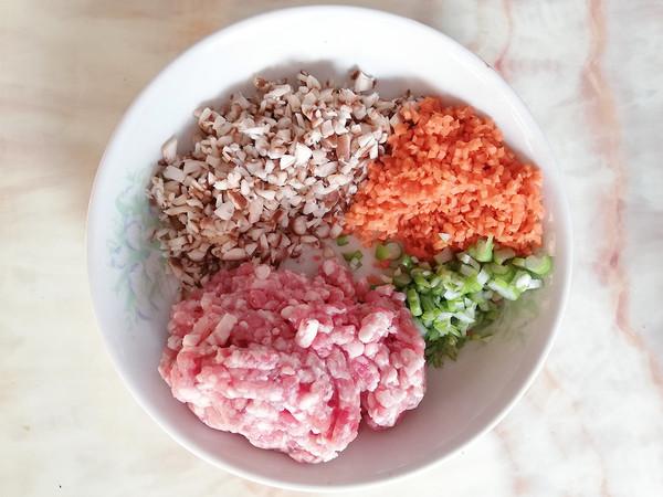 猪肉香菇鸡蛋卷的做法大全