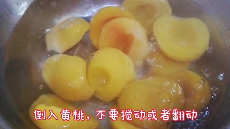 桃罐头的自制方法_冬日自制黄桃罐头的做法_冬日自制黄桃罐头怎么做_美食杰