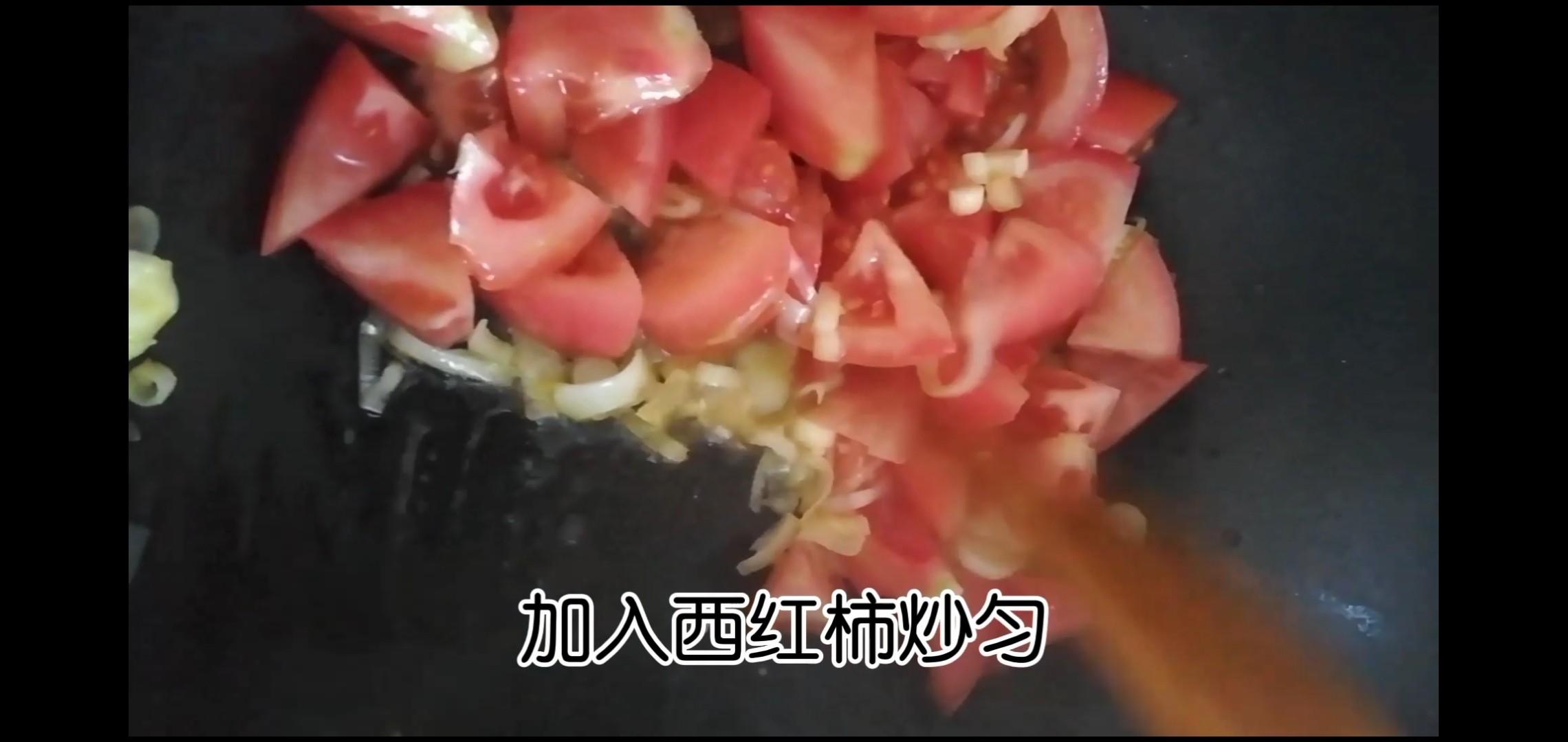 番茄土豆酱蛋面怎么吃
