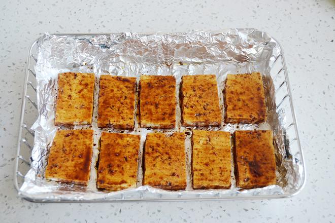 香辣酱油烤豆腐的简单做法